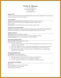 Examples Of Work Experience On Resume Sample Job
