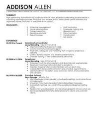 Patient Service Coordinator Resume Care Job Description Monster Sample