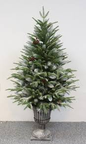 7ft Pre Lit Christmas Trees by Outdoor Pre Lit Christmas Trees Frosted Full1 1 Artificial Great