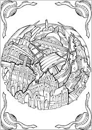 Hard Horse Coloring Pages Bliss Cities Book Your Passport To Calm By Of A Little