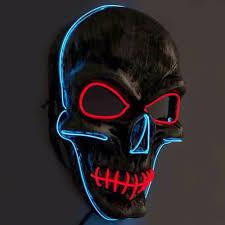 Halloween Club Purge Mask by Online Buy Wholesale Led Halloween Mask From China Led Halloween