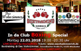 beats and boxing in da club boxing special das