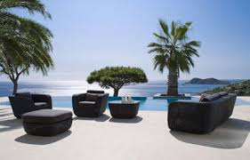 canapé de jardin design meubles de jardin design transat de jardin materiaux naturels