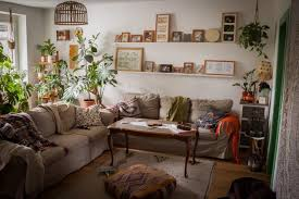 wohnzimmer boho urbanjungle