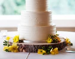 20 Rustic Wood Tree Slice Wedding Cake Base Or Cupcake Stand For Your Event And