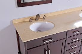 Double Sink Vanity Top by Madison 72