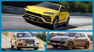 We Compare The Specs Of Lamborghini Urus, Bentley Bentayga And ...