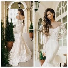 Discount Lace Fishtail Wedding Dresses Straps
