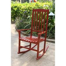 Andover Mills Fordyce Rocking Chair | It's A Wonderful Life ... Charleston Acacia Outdoor Rocking Chair Soon To Be Discontinued Ringrocker K086rd Durable Red Childs Wooden Chairporch Rocker Indoor Or Suitable For 48 Years Old Beautiful Tall Patio Chairs Folding Foldable Fniture Antique Design Ideas With Personalized Kids Keepsake 3 In White And Blue Color Giantex Wood Porch 100 Natural Solid Deck Backyard Living Room Rattan Armchair With Cushions Adams Manufacturing Resin Big Easy Crp Products Generations Adirondack Liberty Garden St Martin Metal 1950s Vintage Childrens