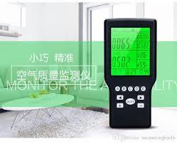 großhandel indoor air quality monitor formaldehyd hcho benzol luftfeuchtigkeitstemperatur tvoc meter detter 5 in 1 measuringtools 25 57 auf