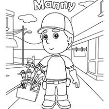 Top 25 Handy Manny Coloring Pages Your Toddler Will Love
