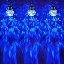 shop gemmy lightshow swirling icy blue led kaleidoscope