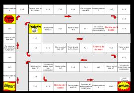 table de multiplication jeu de l oie table de lit a roulettes
