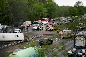 100 Truck Nuts Illegal Fatal NJ Bus Crash Occurred After Driver Made UTurn Report
