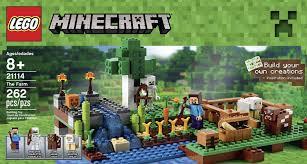 Minecraft Growing Pumpkins by Amazon Com Lego Minecraft 21114 The Farm Toys U0026 Games