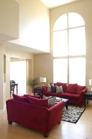 Red Brown And Black Living Room Ideas by Living Room Home Decor Interior Photo Living Room Wallpaper