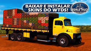 100 World Truck Simulator Baixar E Instalar As Skins Do Driving Area