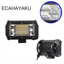 aliexpress buy ecahayaku new 5 inch 72w led work light bar