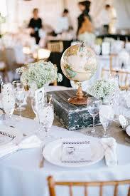 mariage original voyage deco table faire part