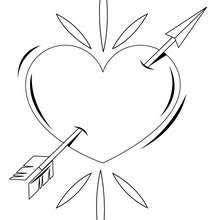 Feb 14th Heart Pierced