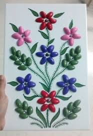 Shell Craft On Tile