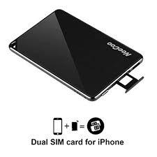 Amazon NeeCoo Bluetooth APP Dual SIM Card for Iphone IOS