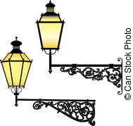 Street Lamp Clip Art And Stock Illustrations April 2018 8028
