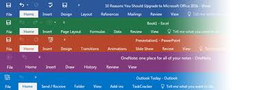 13 Reasons You Should Upgrade to Microsoft fice 2016