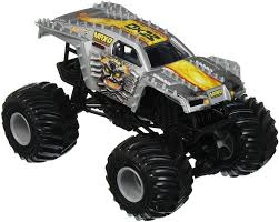 100 Monster Jam Toy Truck Videos Hot Wheels MaxD Vehicle Silver Price From Souq In
