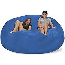 Chill Sack Bean Bag Chair Giant 8 Memory Foam Furniture