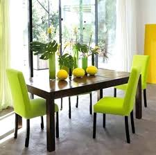 Fantastic Cute Of Dining Room Furniture Green Chairs Image Design