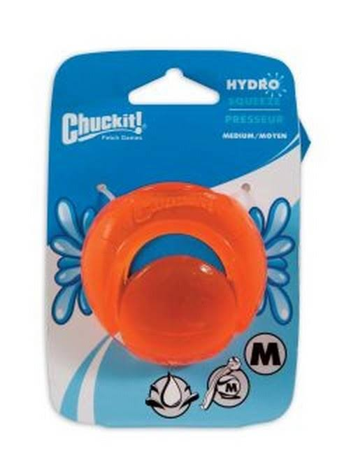 Chuckit Hydro Squeeze Dog Toy - Medium
