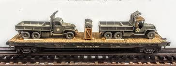 "US Army GMC 6X6 Cargo-Dump Trucks X 2 W/Cab Protectors On 50′ Flat Car  USAX23001(MV1LM-LM-FC6.2USA)_Operates On 3-Rail ""O""Gauge Track Hdx Heavy Duty Truck Cab Protector Headache Rack Wesnautotivecom Weather Guard 19135 Ford Toyota Mounting Kit 10595201 Racks Ca 1904502 Protectors Us 1906302 1905002 Serviceutility Bodies The Dexter Company Brack 30111 Guards Cap World Inc In Trucks Accsories Landscape Truck Body South Jersey"