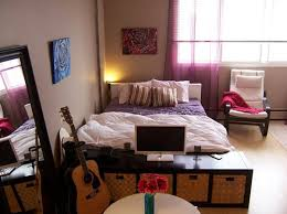 Cool And Small Apartment With Bedroom Design