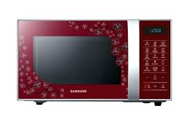 Red Kenmore Microwave Oven Convection Litres Cs Cu