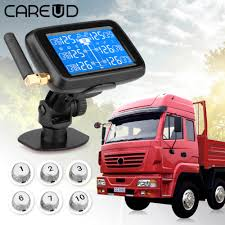 CAREUD U901 Auto Truck TPMS Car Wireless Tire Pressure Monitoring ...