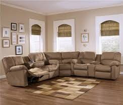 living room comfortable beige sectional sofa with ethan allen