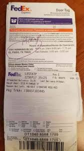 Trobbles to my package at FedEx Sep 19 2017 Pissed Consumer