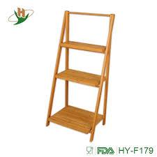 deluxe badezimmer bambus freistehende organisation leiter regal bambus regal buy bambus leiter regal bambus bad regal leiter regal product on