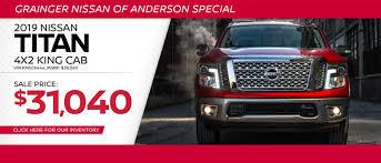 100 Used Trucks Anderson Sc Grainger Nissan Of Serving Greenville Easley Greer