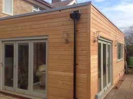 100 Log Cabin Extensions Beaumont Road Cambridge Larch Clad Timber Frame Extension Larch