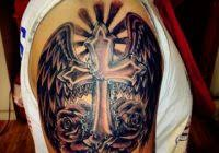 Inspirational Images Of Cross Tattoos By Wesley Canada The World Best Tattoo Artist