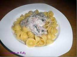 recette d orecchiette sauce crémeuse au gorgonzola et chignons