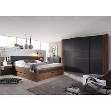 schlafzimmer set 3 bernau bett nako kleiderschrank eiche