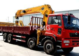 100 Truck Loader Economical Heavy Things Lift Crane 16 Ton With