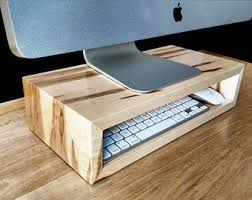 Monitor Stands For Desk by Monitor Stand Etsy