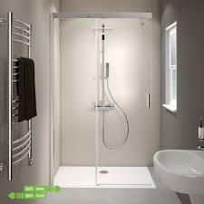 glas schiebetür alleinstehend walk in dusche trennwand verschiedene größen