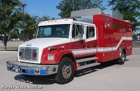 100 Hazmat Truck 1994 Freightliner FL80 Crew Cab Hazmat Truck Item EP9436