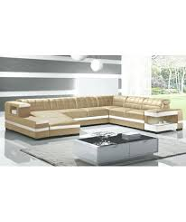 canapé angle cuir convertible canape angle cuir meublesline canapac dangle convertible oara 6