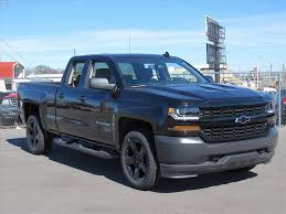100 Black Trucks For Sale 2017 Chevy Silverado 1500 WT 4X4 Truck Ada OK HZ232056